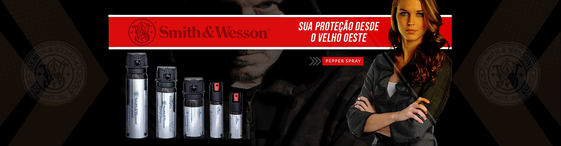 SPRAY DE PIMENTA SMITH & WESSON