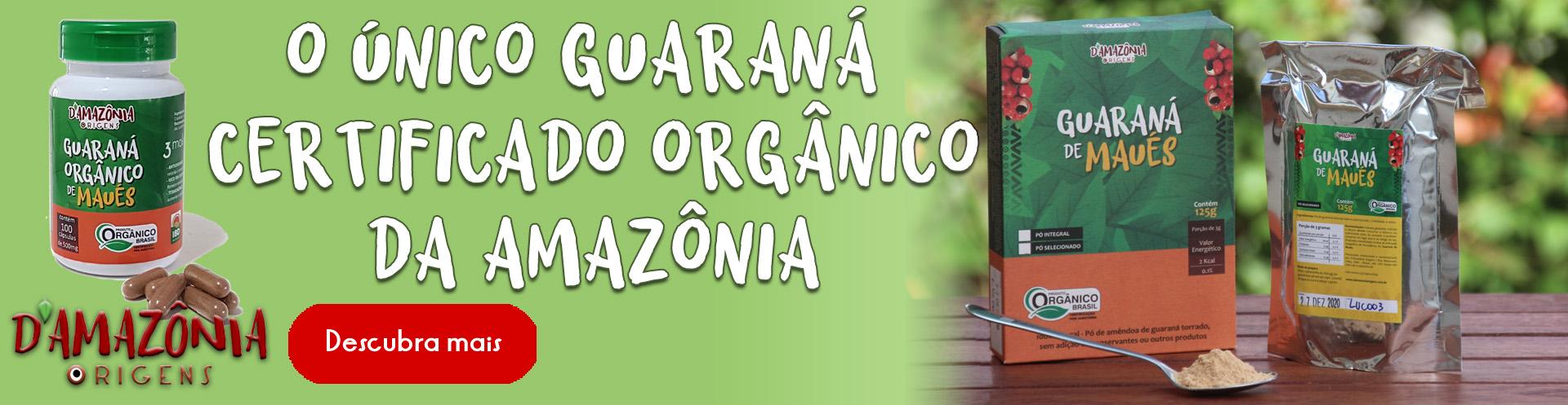 o único orgânico