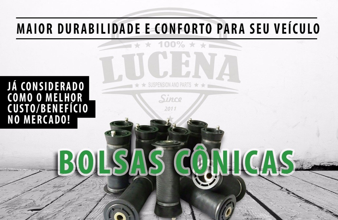 Bolsas Cônicas 100% Lucena