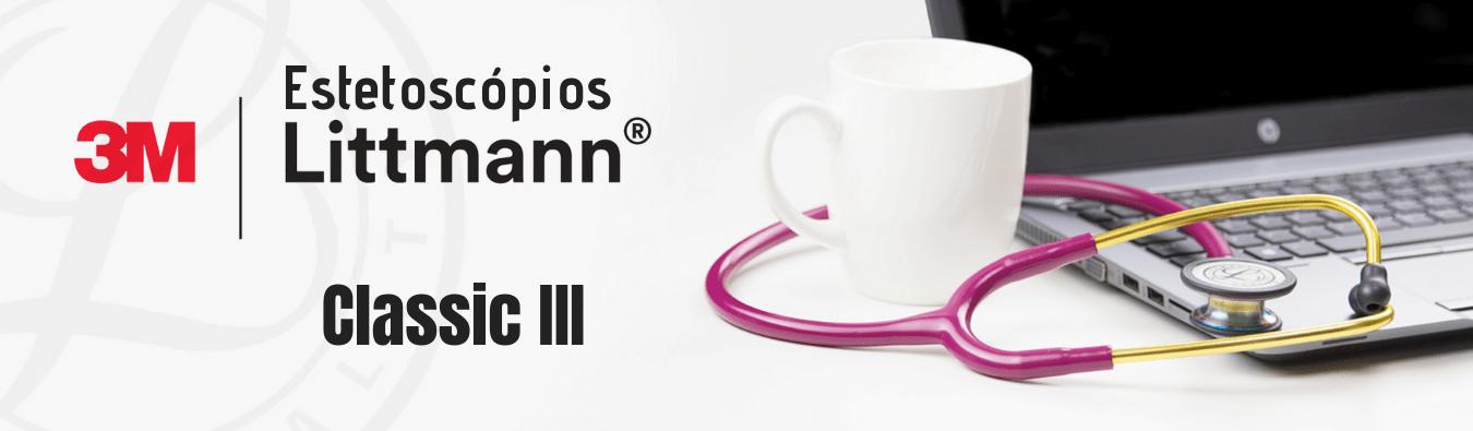 Ponto Cirúrgico Estetoscópio Littmann Classic III