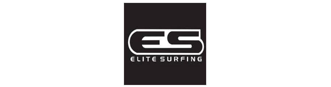 LOGO ELITE SURFING PRETO