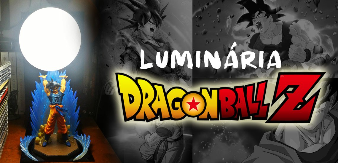Luminária Dragon Ball Z