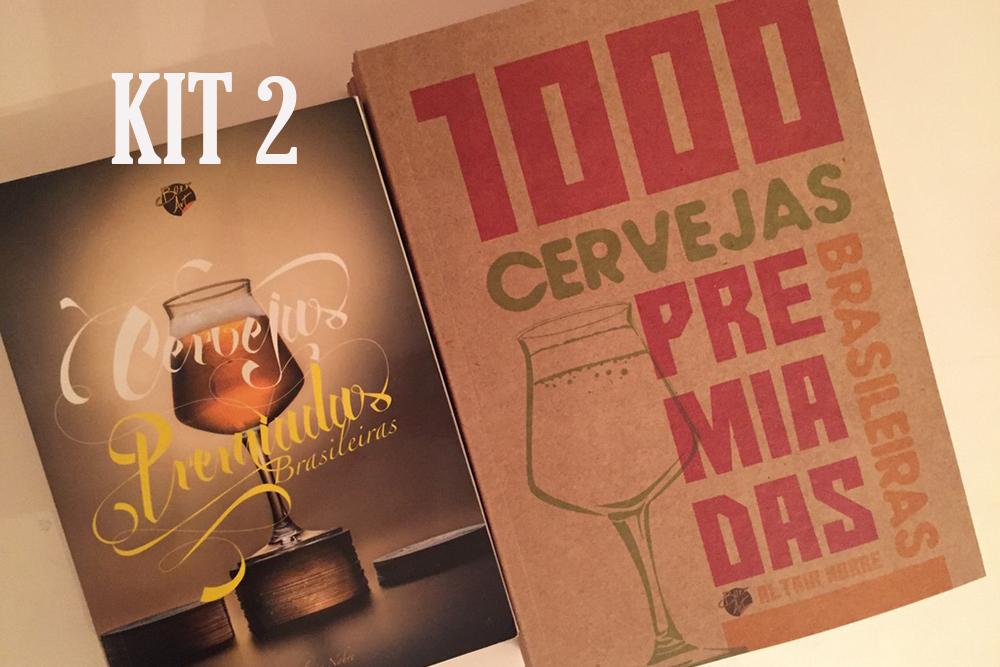 Kit edições 2015 e 2018 do Livro das Cervejas Premiadas