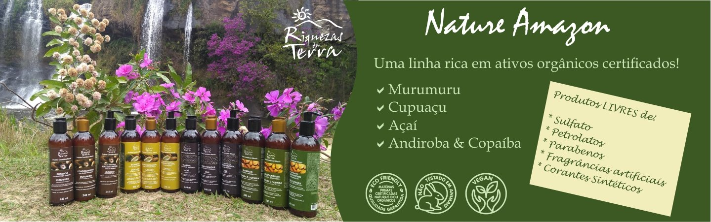 Banner Nature Amazon Natureza