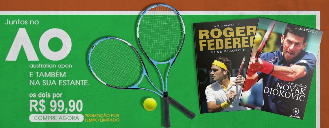 Biografias Ferderer e Djokovic
