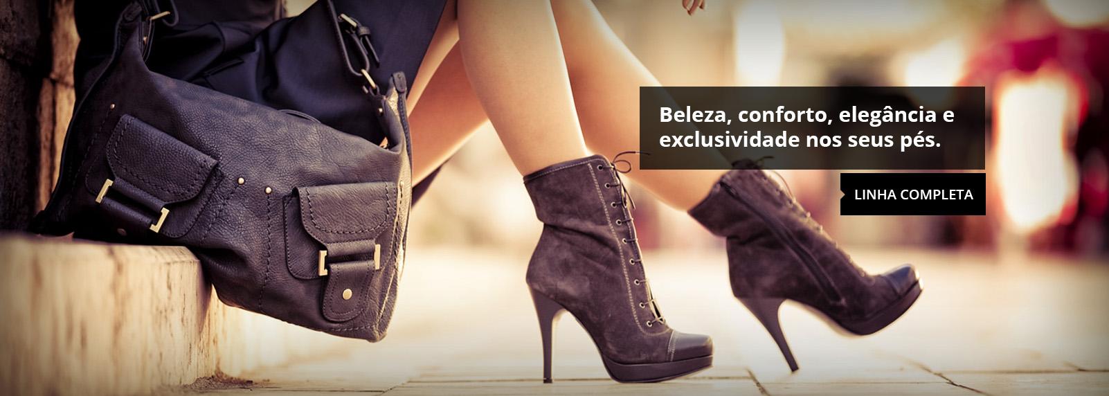 Beleza, Conforto, Elegância e exclusividade nos seus pés!