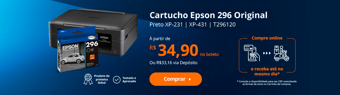 Cartucho Epson 296 Original