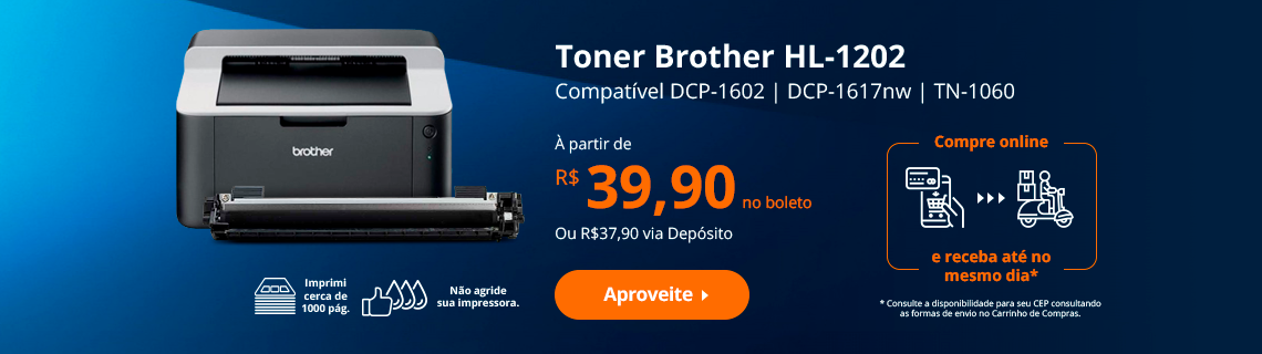 Toner Brother TN-1060 Compatível