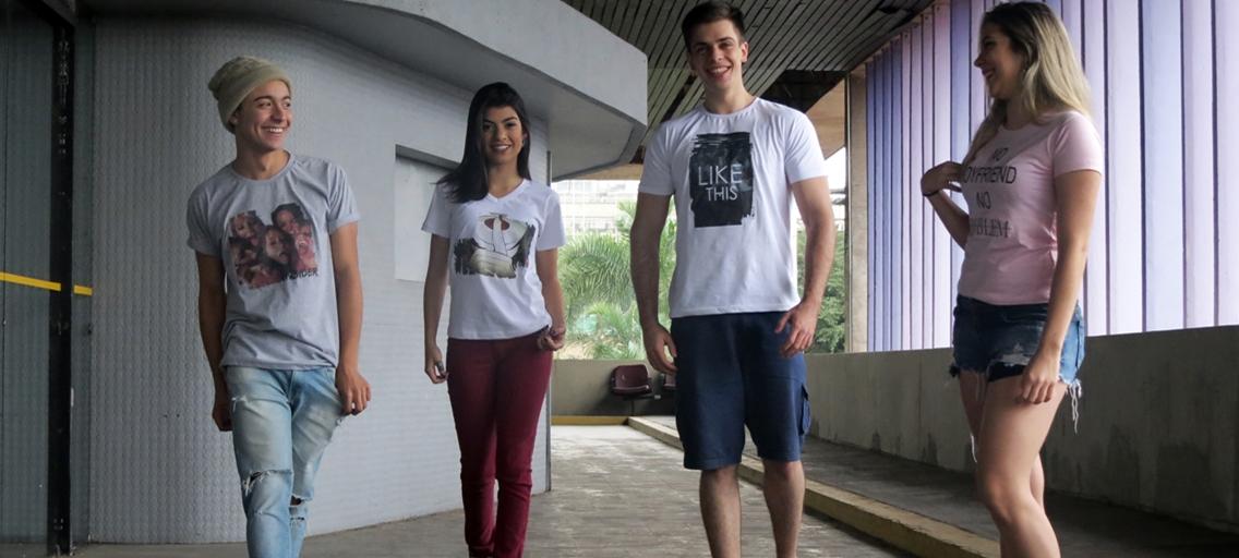 Página camisetas