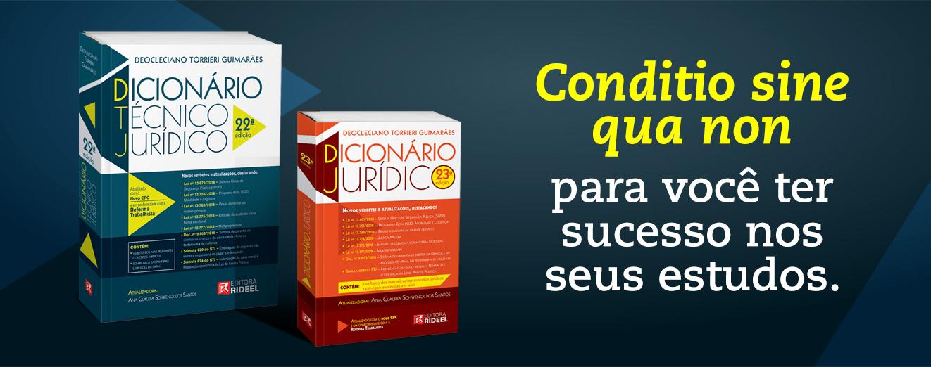 Banner Dicionários Jurídicos 2019