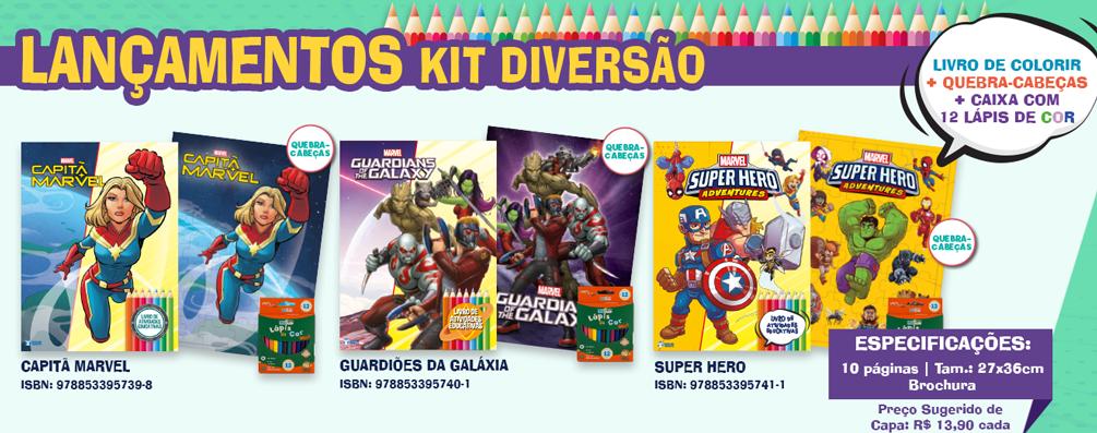 Banner - Kit Diversão Marvel