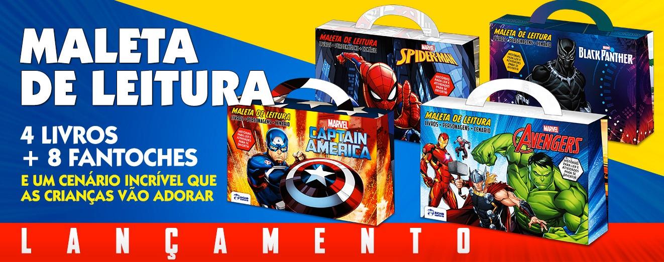 Banner Maletas Marvel