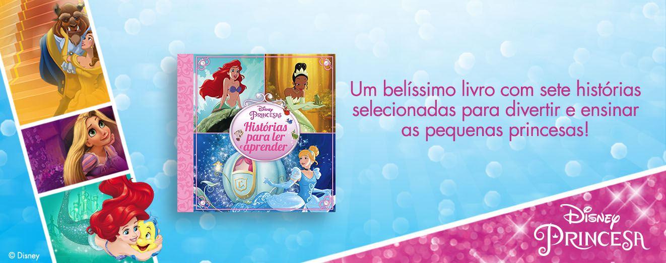 Banner Princesas Capa Dura