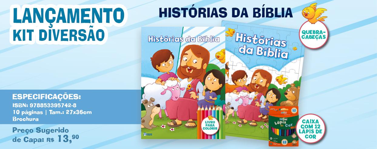 Kit Diversão - Histórias da Bíblia