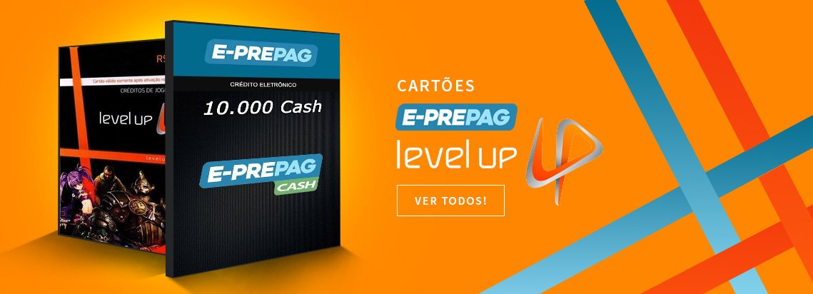Cartões Level UP e E-prepag