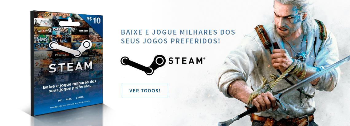Cartões Steam