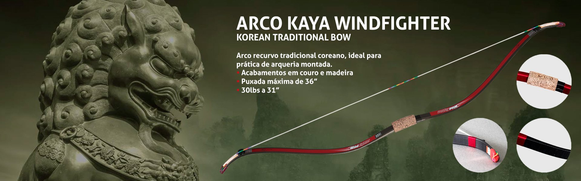 Banner Arco Kaya Windfighter