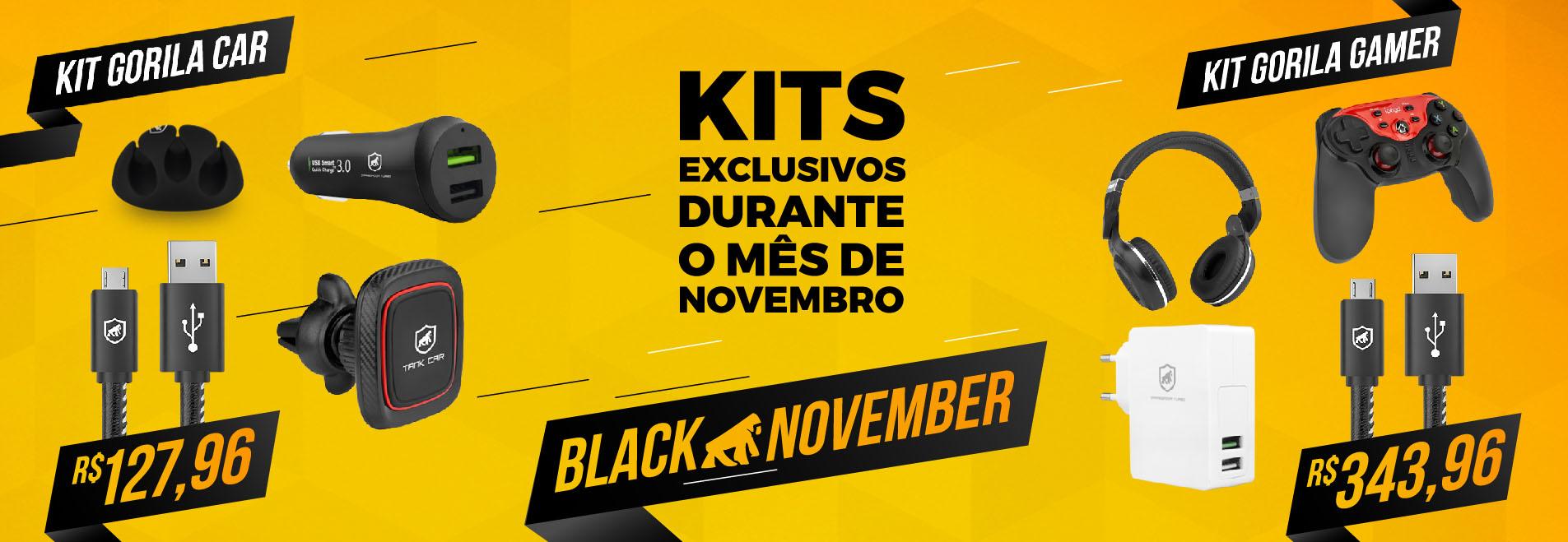 Banner Kits - Black November