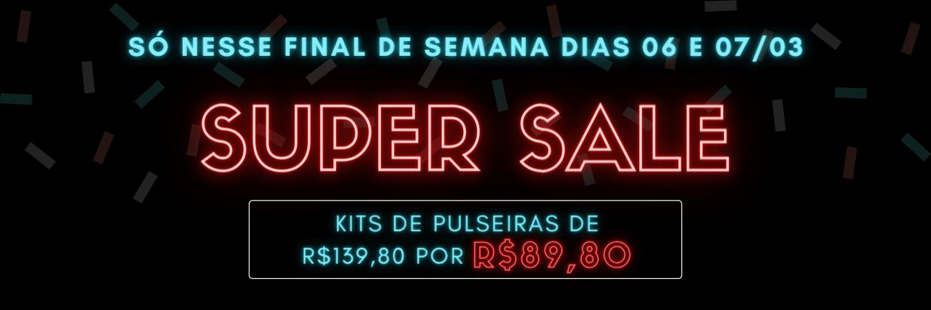 Categoria Pulseiras Super Sale