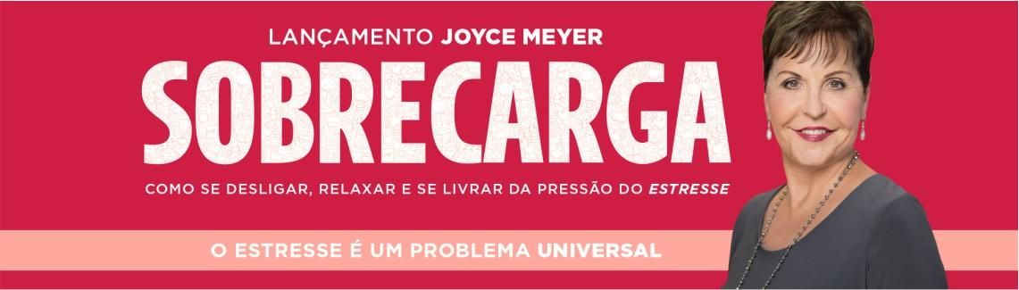 Joyce Meyer Livros Sobre Carga