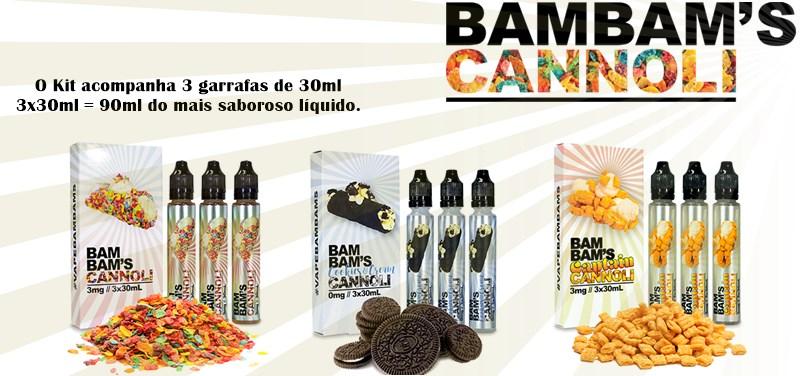 líquido bambam´s cannoli