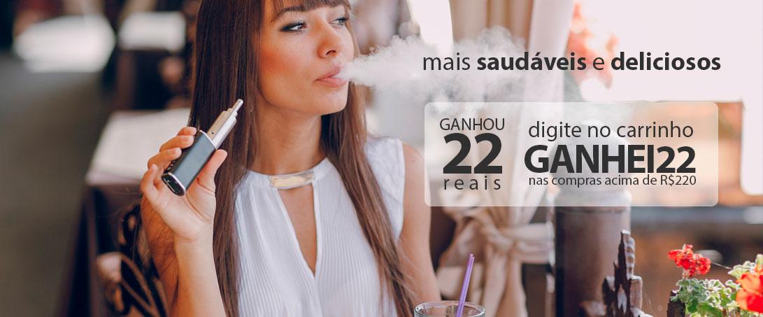 Cigarro Eletrônico Ganhou Desconto 22 reais