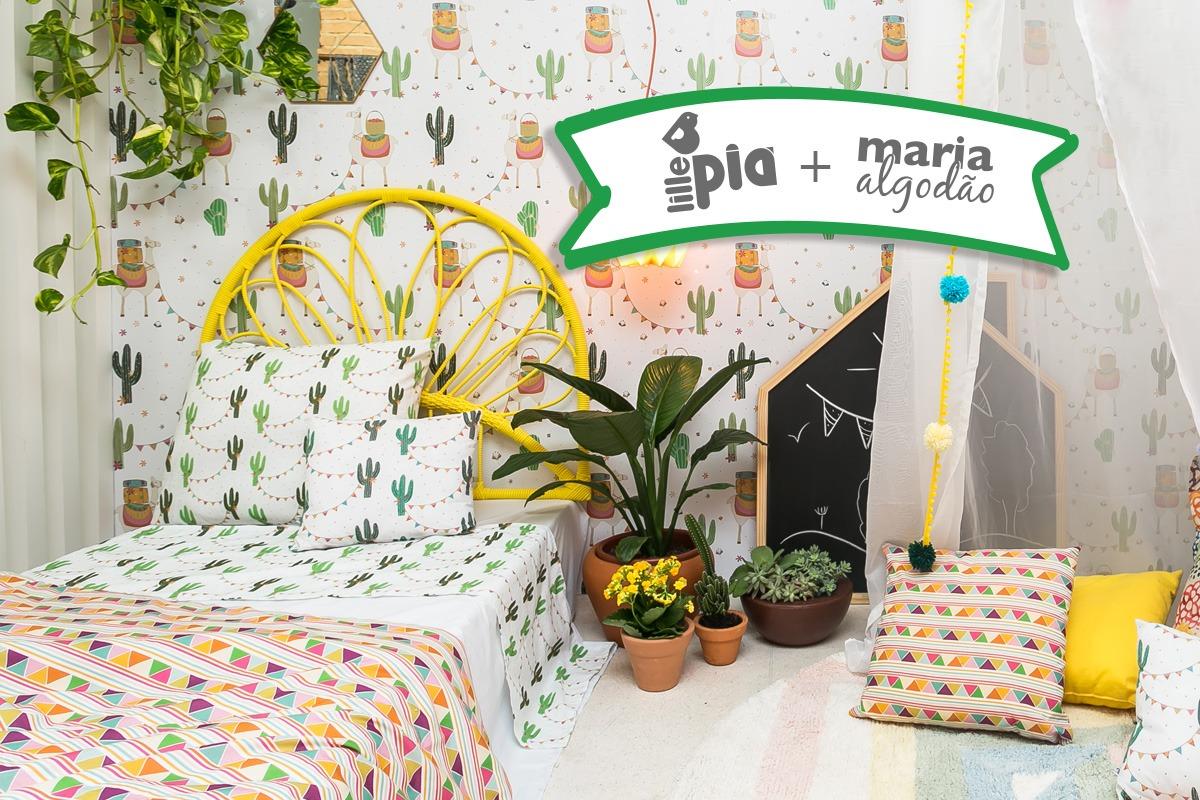 Collab Maria Algodão - Lhamas