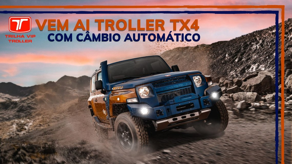 NOVO TROLLER TX4 CAMBIO AUTOMÁTICO