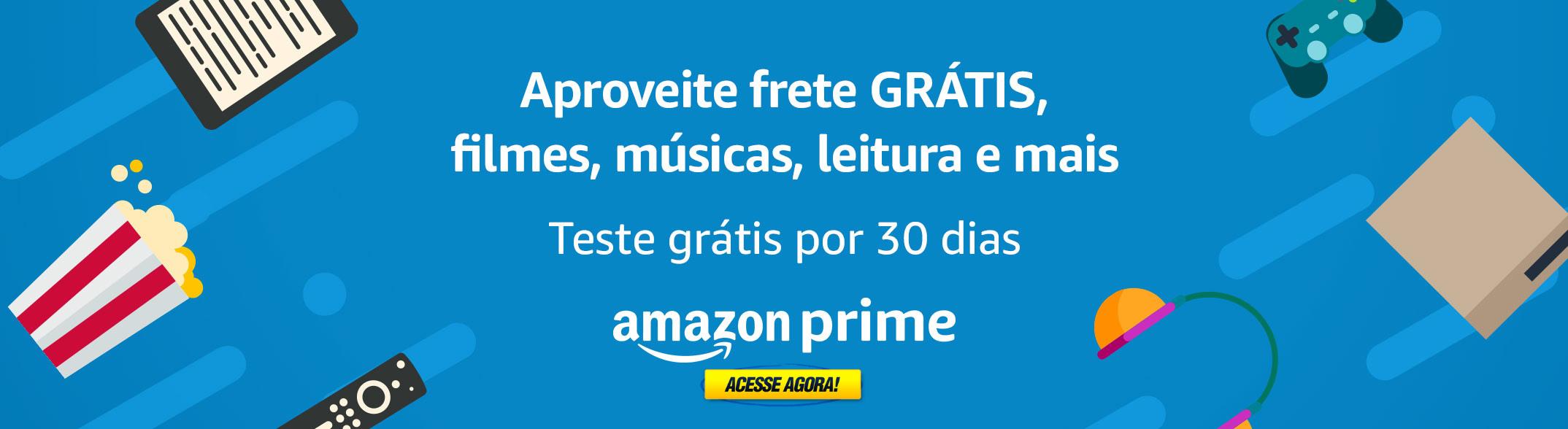 Teste Amazon prime 30 dias