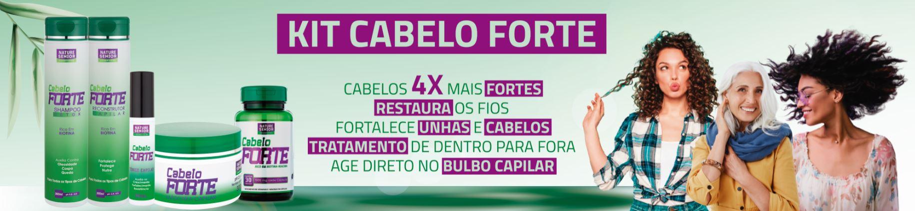 CABELO FORTE NOVO