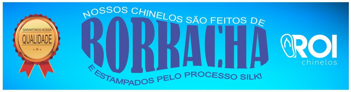 CHINELOS DE BORRACHA