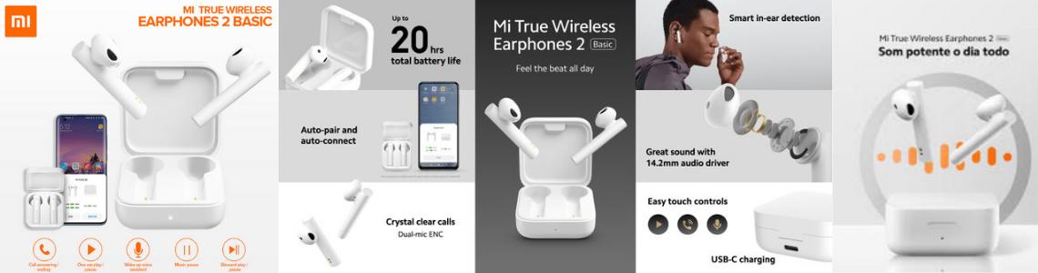 mi true earphones 2 basic