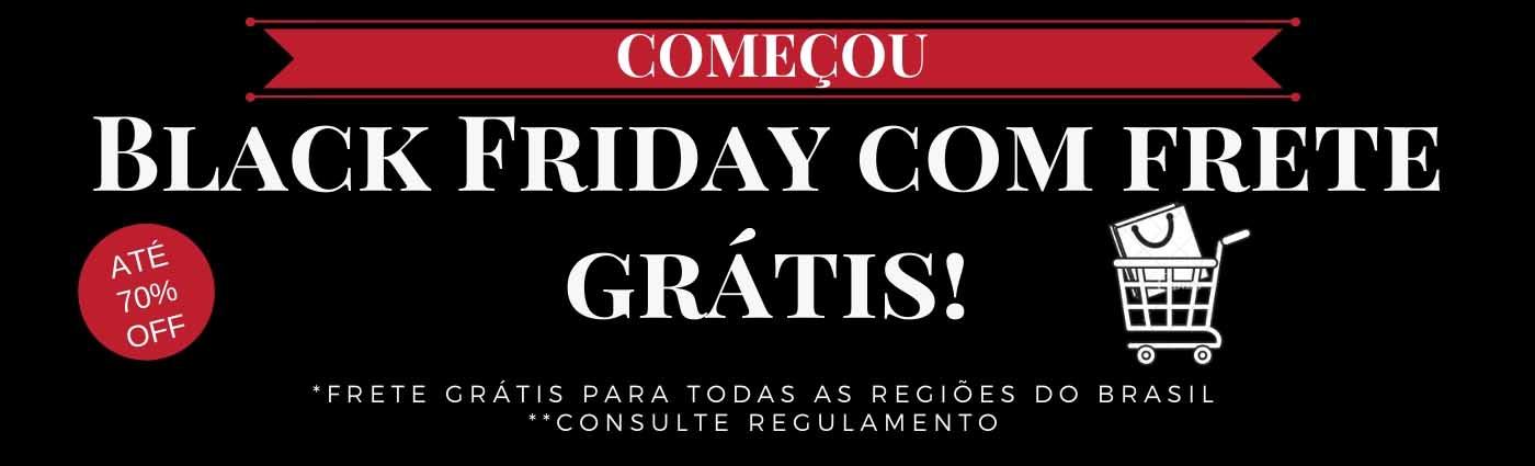 Black Friday com Frete Grátis