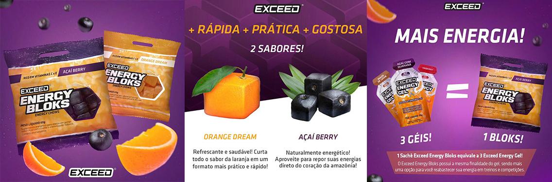 Exceed Energy Blocks - Goma Carboidrato