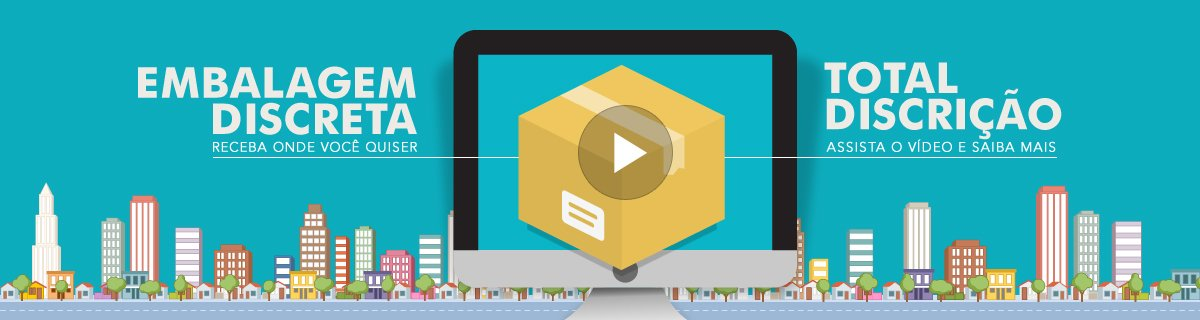 Video Embalagens Discreta