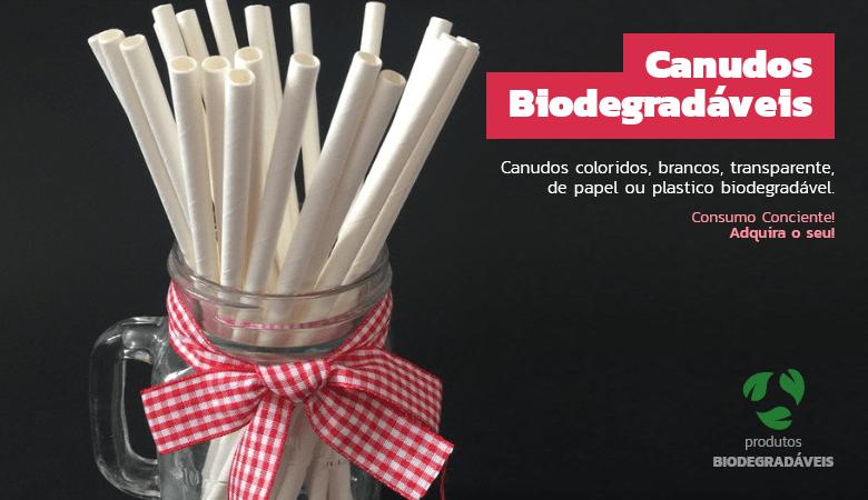 Canudos Biodegradáveis