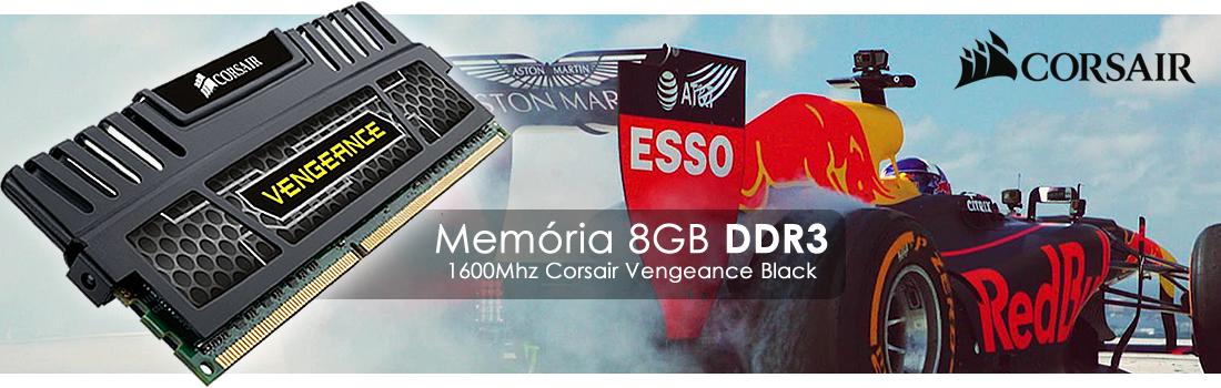 Memória 8GB Corsair Vengeance Black