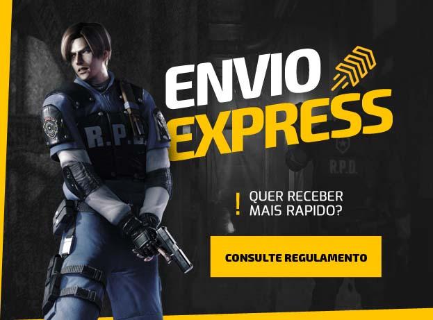 Envio Express - Quer receber mais rápido?