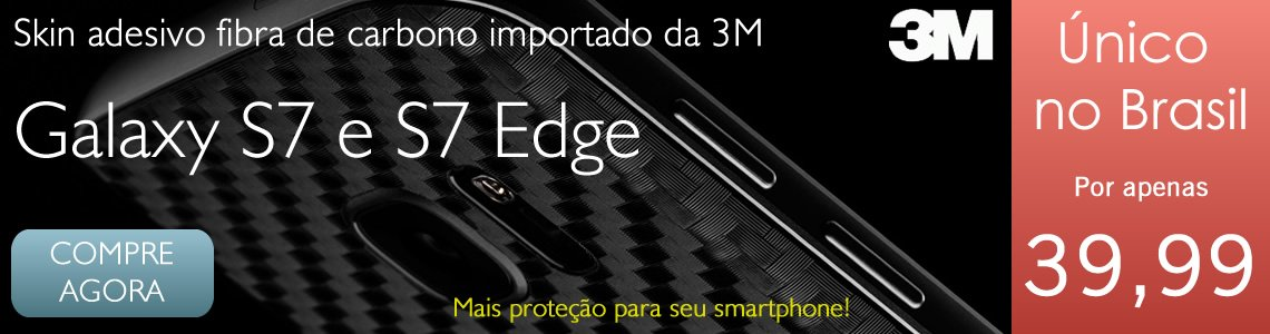 Skin Adesivo 3M Galaxy S7