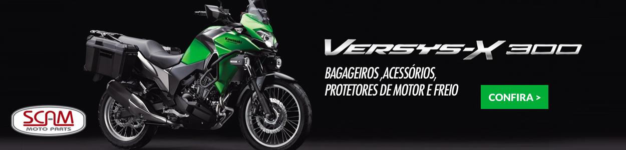 Bagageiros, Acessórios,  Protetores de Motor e freio da Versys-X 300