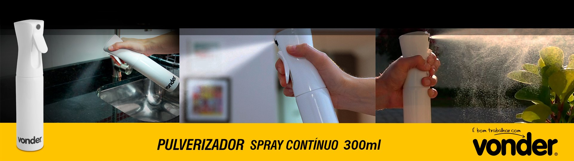 Pulverizador Spray Contínuo Vonder