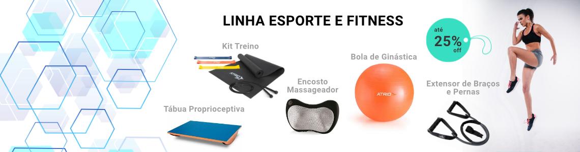 Linha Esporte e Fitness