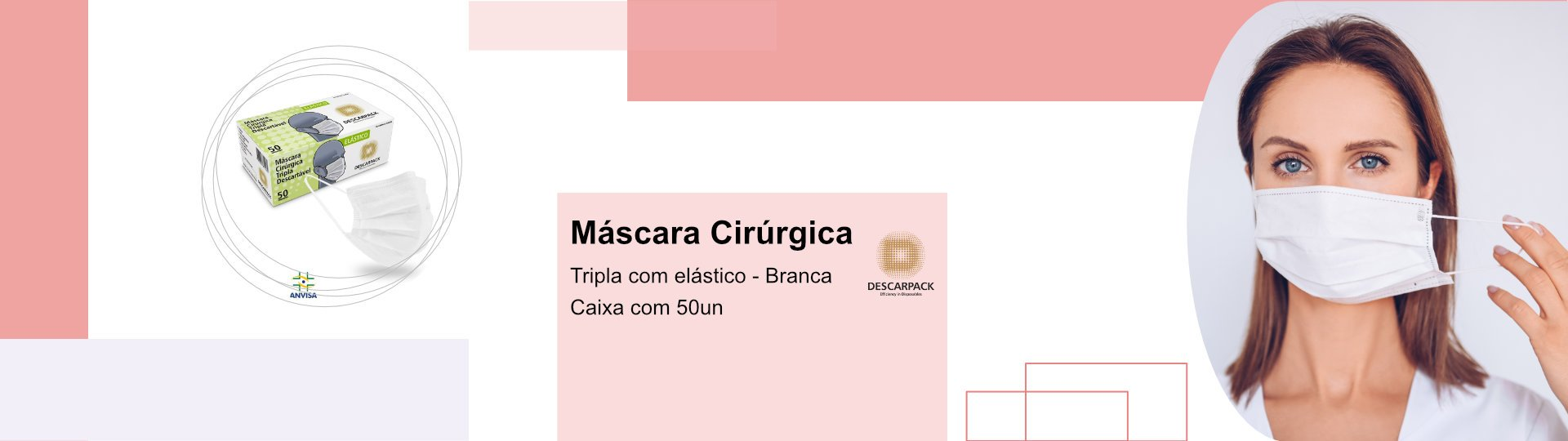 Máscara Cirúrgica Descarpack2