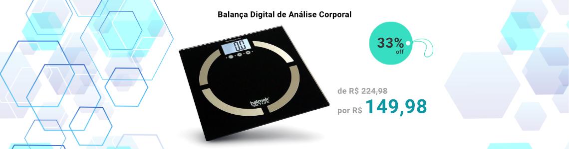 Balança Digital de Análise Corporal Balmak