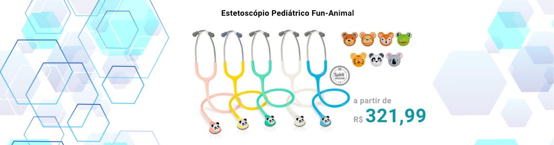 Estetoscópio Pediátrico Fun Animal