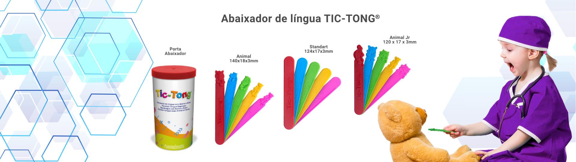Abaixador de Língua Tic-Tong