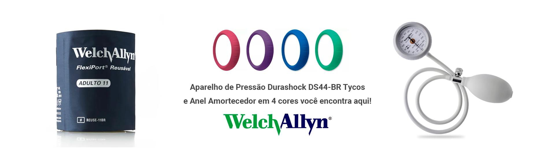 Aparelho de Pressão Durashock DS44-BR e Anel