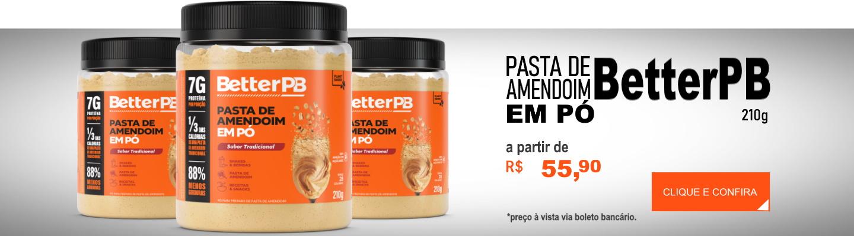 Pasta de Amendoim em Pó BetterPB