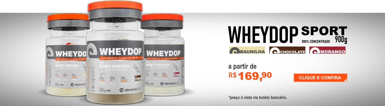 WheyDop Sport Concentrado