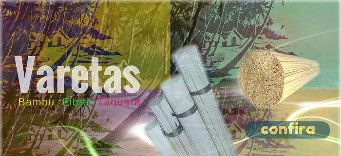 Banner Varetas Bambu Fibra Taquara